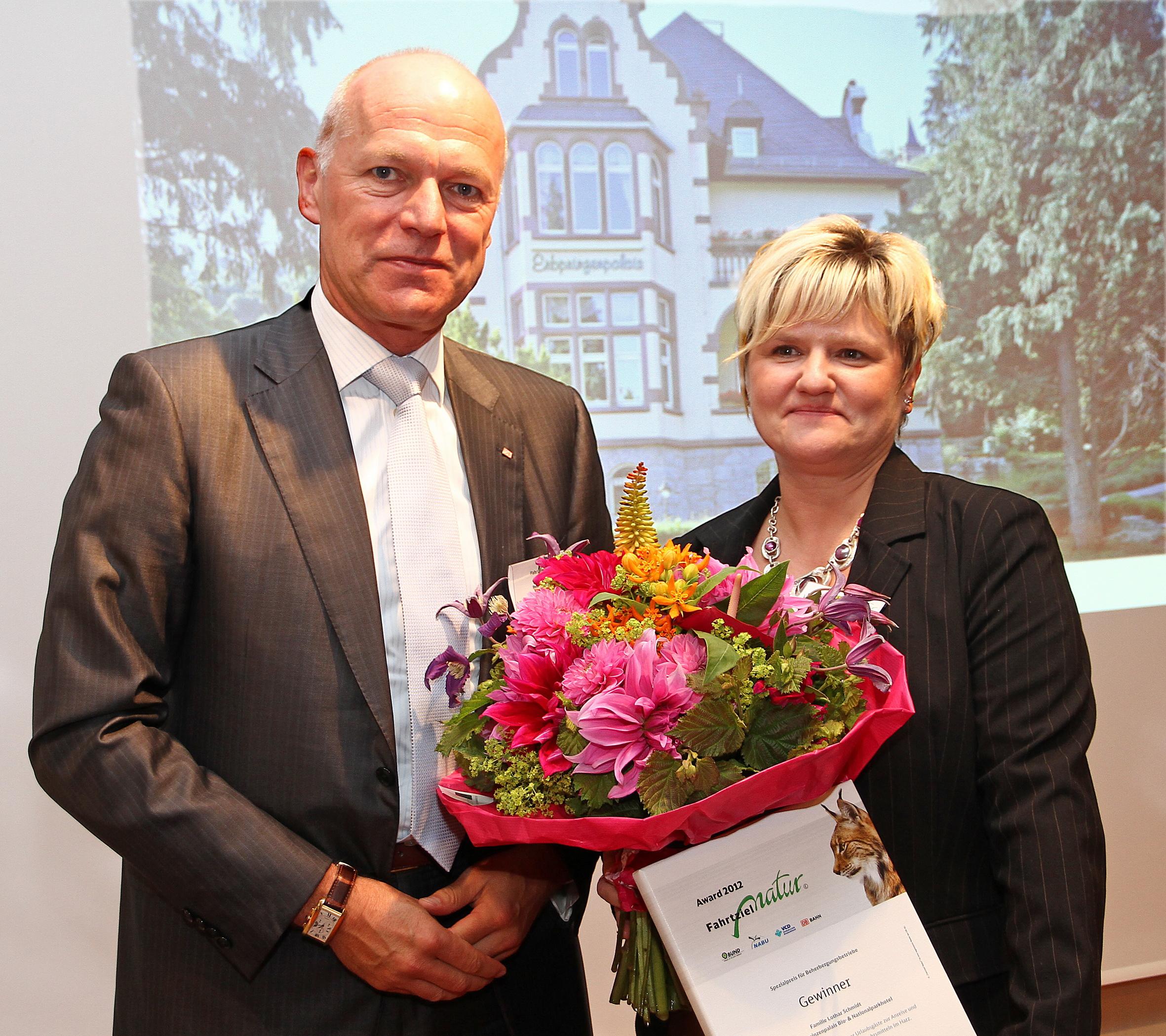 Nationalpark-Partner aus dem Harz gewinnt diesjährigen Spezialpreis beim Fahrtziel Natur-Award der Deutschen Bahn