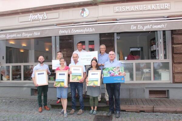 Vier neue Betriebe im Biosphärenreservat Bliesgau als Partner ausgezeichnet