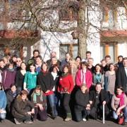 Teilnehmer des ersten bundesweiten Treffens der Partner der Nationalen Naturlandschaften in Edertal-Bringhausen; Foto: EUROPARC Deutschland e.V.