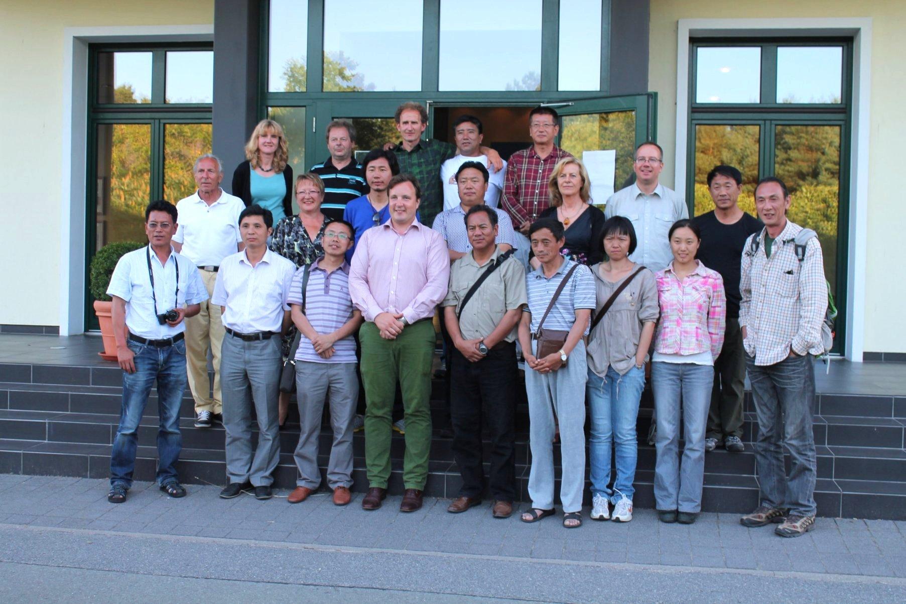 Erfahrungen der Nationalpark-Partner waren bei chinesischen Gästen gefragt