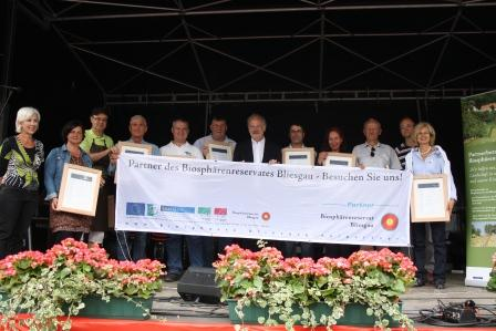 Das Partnernetzwerk des Biosphärenreservates Bliesgau wächst