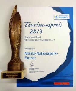 Tourismuspreis für das Netzwerk des Müritz-Nationalparks (Foto: Müritz-Nationalpark)