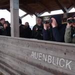 Vogelbeobachtung am Auenblick - Foto: EUROPARC Deutschland