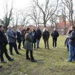 Führung über das Burggelände - Foto: Simone Ahrend