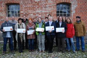 Die Partner des Nationalparks Unteres Odertal - Foto: H.J. Wilke