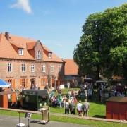 Biosphäre-Elbe-Markt auf der Festung Dömitz- Foto: Biosphärenreservat Flusslandschaft Elbe-MV