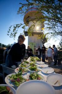 Kulinarischer Höhengenuss im Nationalpark Hainich - Foto: Tourismusverband der Welterberegion Wartburg Hainich e.V./Jens Fischer