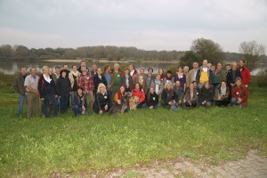 47 Teilnehmerinnen und Teilnehmer nahmen am diesjährigen länderübergreifende Netzwerk-Treffen der Flusslandschaft Elbe teil