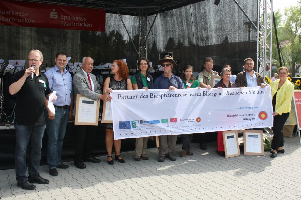 Partnerauszeichnung im Biosphärenreservat Bliesgau - Foto: Biosphärenreservat Bliesgau