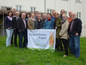 Müritz-Nationalpark-Partner Preisübergabe UN-Dekade (Vera Grade / NPA Müritz)
