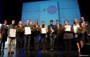 Preisverleihung mit Wirtschaftsminister Reinhard Meyer - Foto: Marianne Lins