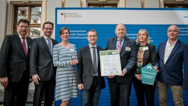 """Sächsische Schweiz im Wettbewerb """"Nachhaltige Tourismusdestinationen"""" mit Sonderpreis geehrt"""