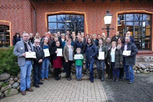 """Neue """"Partner des Biosphärenreservates Flusslandschaft Elbe"""" ausgezeichnet"""