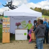 Biosphärengebiet Schwäbische Alb: Stand Hengstparade