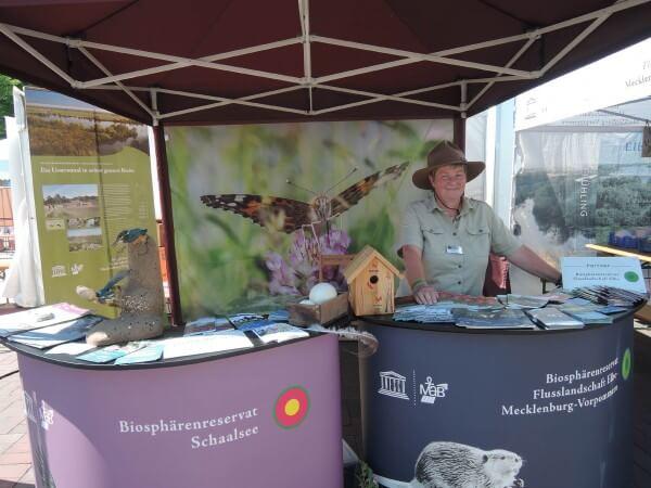 Biosphärenreservatsamt Schaalsee-Elbe mit beim MV-Tag in Rostock und dem NDR-Landpartie-Fest in Ratzeburg dabei