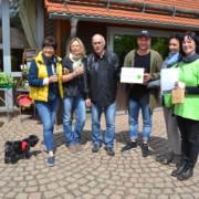 Auszeichnung anlässlich des Blütenfestes auf dem Schlossberghof im Juni 2018 - Foto: Biosphärenreservat Spreewald