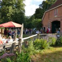 Gute Stimmung auf dem Hoffest verbreitete die Band Bardomaniacs - Foto: D. Foitlänger, Biosphärenreservatsamt Schaalsee-Elbe