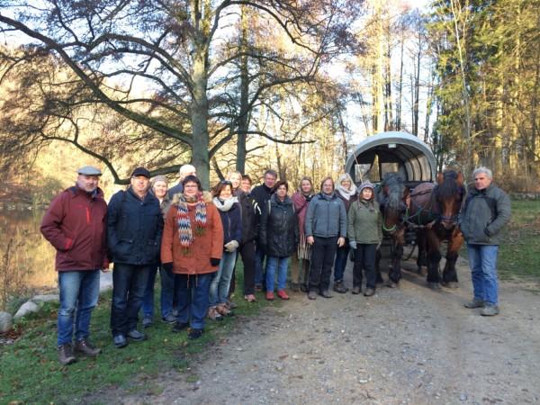 Nationalpark-Partner aus Nordhessen zu Besuch im Müritz-Nationalpark
