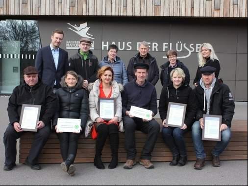 Sechs neue Partner im Biosphärenreservat Mittelelbe