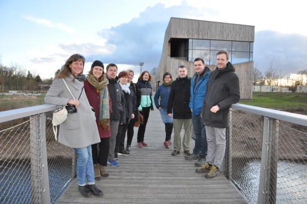 40 Jahre UNESCO Biosphärenreservat - Partnern aus dem Thüringer Wald besuchen anlässlich Jubiläums die Mittelelbe