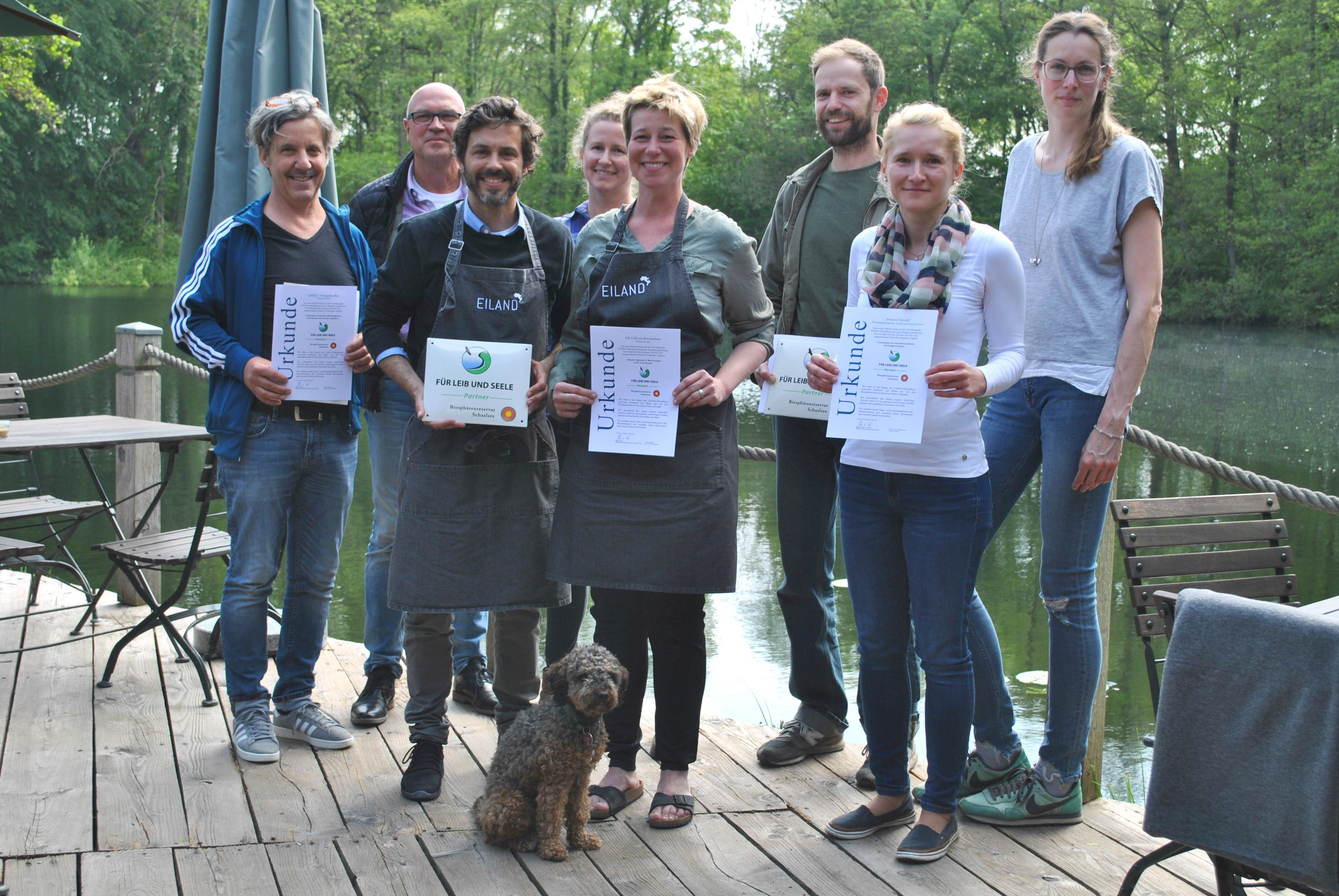 """Netzwerk """"Biosphärenreservat Schaalsee – Für Leib und Seele"""" mit neuen Mitgliedern"""