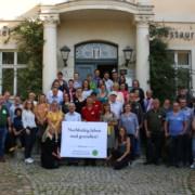 50 Mitglieder des Partnernetzwerkes des Biosphärenreservates Flusslandschaft Elbe zu einem Besuch in Brandenburg. - Foto: BR FLE