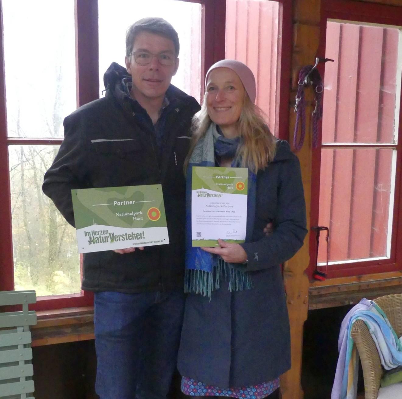 Im Herzen Naturversteher – Auszeichnung von drei neuen Nationalparkpartnern