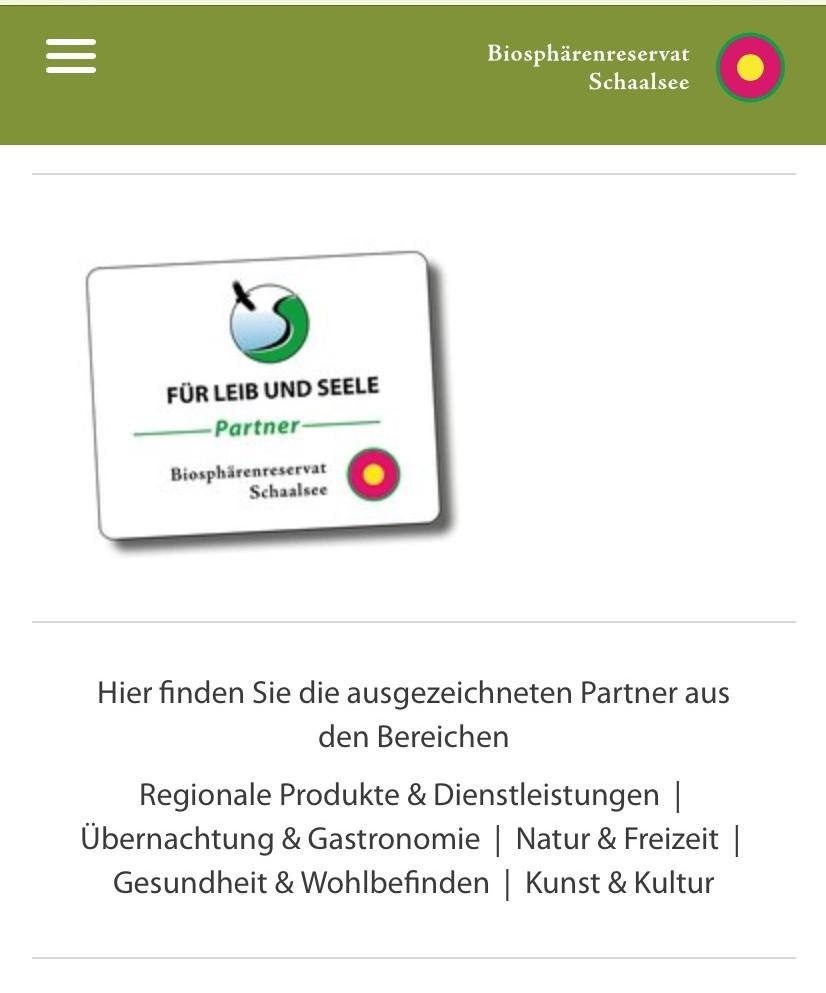 Neuer Internetauftritt der Biosphärenreservate Flusslandschaft Elbe Mecklenburg-Vorpommern und Schaalsee