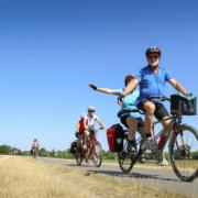 Der NABU begleitet eine Reisegruppe sehbehinderter Touristen auf der Etappe von Wittenberge nach Rühstädt.